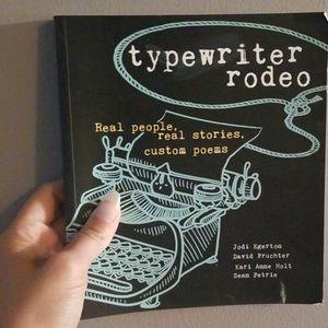 Typewriter rodeo book